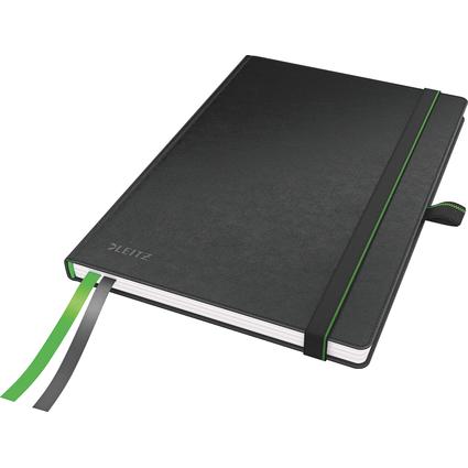 LEITZ Notizbuch Complete, DIN A5, kariert, schwarz