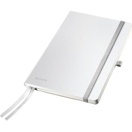 LEITZ Notizbuch Style, DIN A5, liniert, arktikweiß
