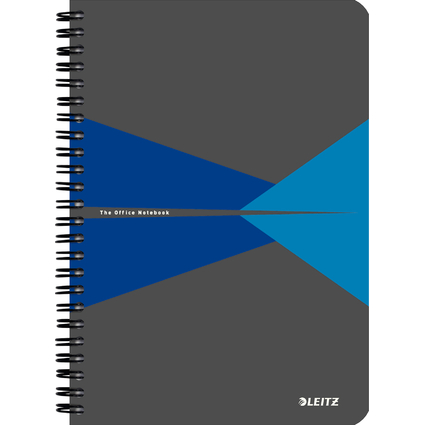 "LEITZ Collegeblock ""Office"", DIN A5, liniert, 90 Blatt, blau"