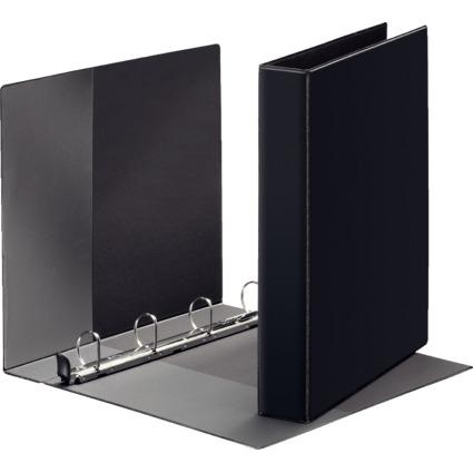 LEITZ Premium Ringbuch, DIN A5, schwarz, 2 D-Ring SoftClick-