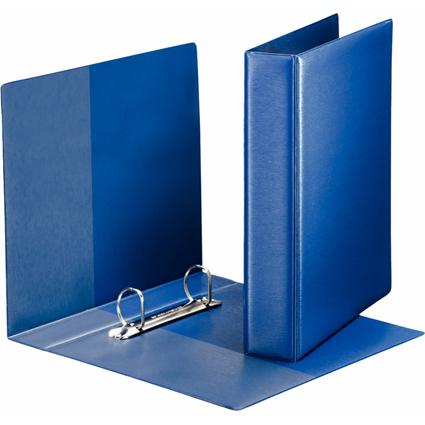 LEITZ Premium Ringbuch, DIN A5, blau, 2 D-Ring-Mechanik