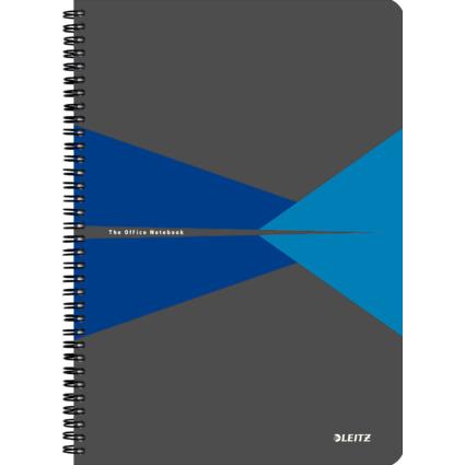 "LEITZ Collegeblock ""Office"", DIN A4, liniert, 90 Blatt, blau"