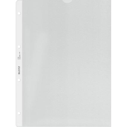 LEITZ Prospekthülle extrastark, A4, PP, genarbt, 0,13 mm