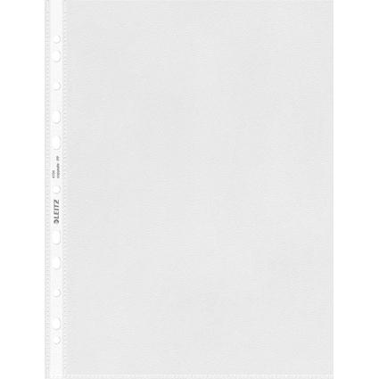 LEITZ Prospekthülle Standard, A4, PP, genarbt, 0,10 mm