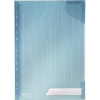LEITZ Sicht-/Prospekthülle CombiFile, A4, PP, blau, 0,20 mm