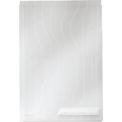 LEITZ Sicht-/Prospekthülle CombiFile Maxi, A4, PP, genarbt