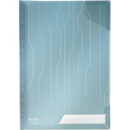 LEITZ Sicht-/Prospekthülle CombiFile Hardback, A4, PP, blau