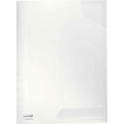 LEITZ Sicht-/Prospekthülle CombiFile, A4, PP, glasklar