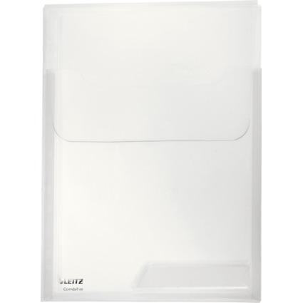 LEITZ Sicht-/Prospekthülle CombiFile Maxi, A4, PP, glasklar