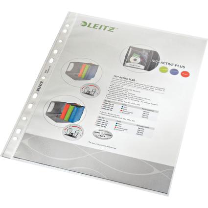 LEITZ Prospekthülle Standard, A4, PP, genarbt, 0,09 mm