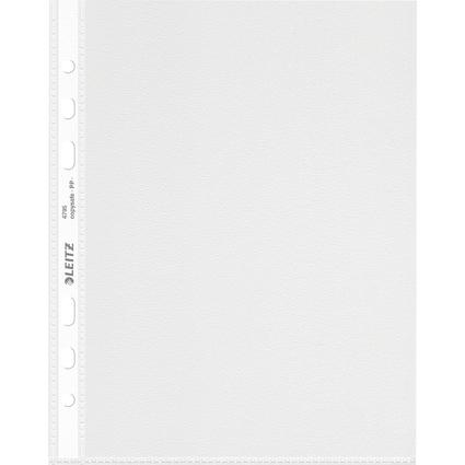 LEITZ Prospekthülle Standard, A5, PP, genarbt, 0,08 mm
