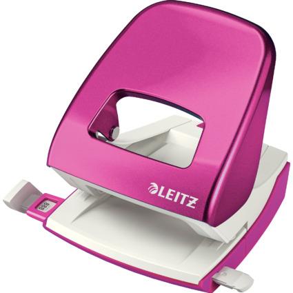 LEITZ Locher Nexxt 5008, pink-metallic