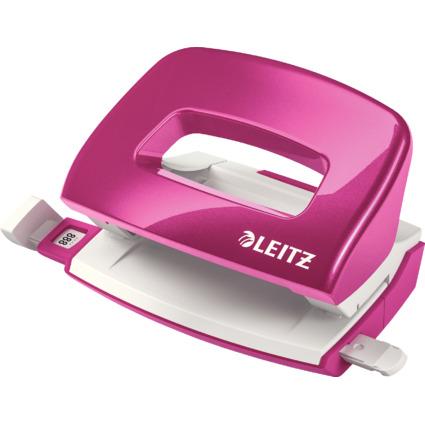 LEITZ Locher Mini Nexxt WOW 5060, pink-metallic