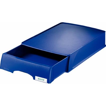 LEITZ Briefablage-Schublade Plus, DIN A4, blau