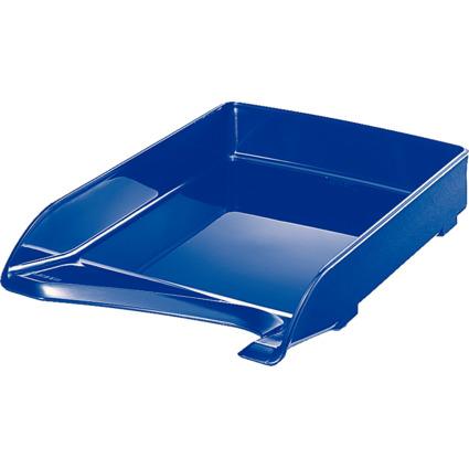 LEITZ Briefablage Elegant, DIN A4, Polystyrol, blau