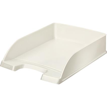 LEITZ Briefablage Plus WOW, A4, Polystyrol, perlweiß