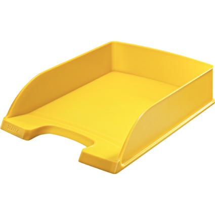 LEITZ Briefablage Plus Standard, A4, Polystyrol, gelb