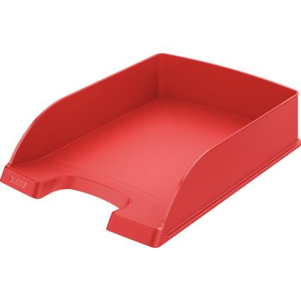 LEITZ Briefablage Plus Standard, A4, Polystyrol, rot