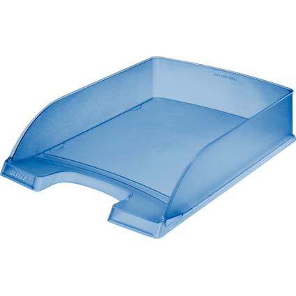 LEITZ Briefablage Plus Standard, A4, Polystyrol, blau frost