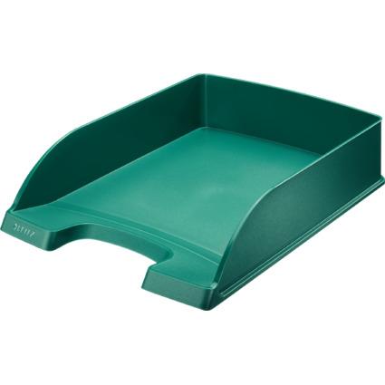 LEITZ Briefablage Plus Standard, A4, Polystyrol, grün