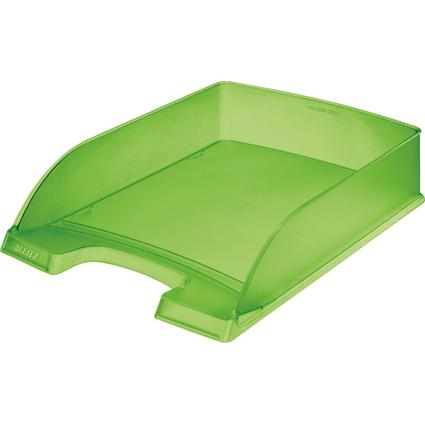 LEITZ Briefablage Plus Standard, A4, Polystyrol, grün frost