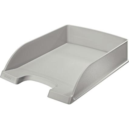 LEITZ Briefablage Plus Standard, A4, Polystyrol, grau