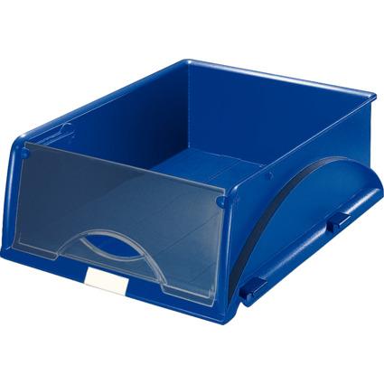 LEITZ Ablagekorb Sorty, DIN A4/C4, blau