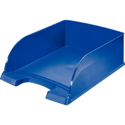 LEITZ Briefablage Plus Jumbo, DIN A4, Polystyrol, blau