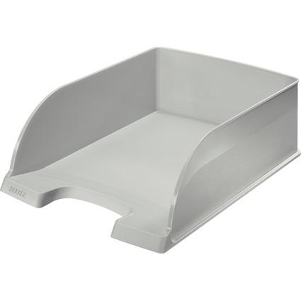 LEITZ Briefablage Plus Jumbo, DIN A4, Polystyrol, grau