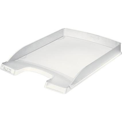 LEITZ Briefablage Plus Flach, DIN A4, Polystyrol, frost