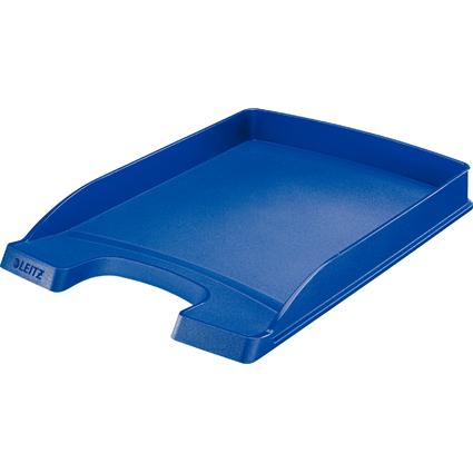 LEITZ Briefablage Plus Flach, DIN A4, Polystyrol, blau