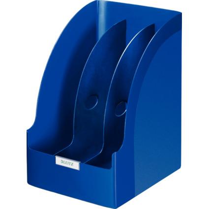 LEITZ Stehsammler Plus Jumbo, DIN A4, Polystyrol, blau