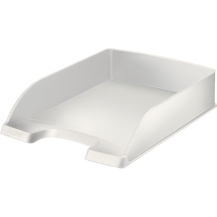 LEITZ Briefablage Style, A4, Polystyrol, arktik-weiß