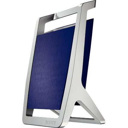 LEITZ Stifteköcher Style, 1 Fach, titan-blau