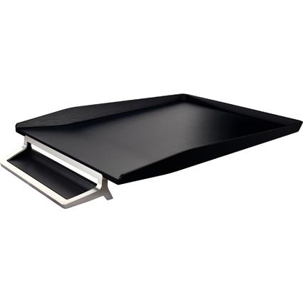 LEITZ Briefablage Style, DIN A4, satin-schwarz