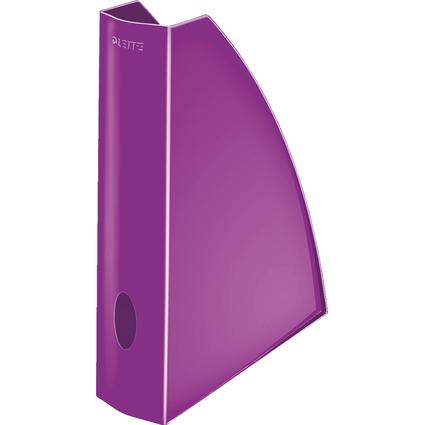 LEITZ Stehsammler WOW, DIN A4, Kunststoff, violett