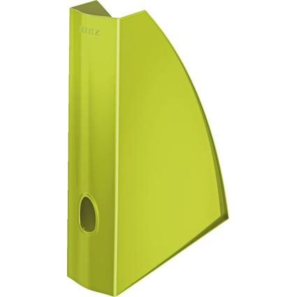 LEITZ Stehsammler WOW, DIN A4, Kunststoff, grün-metallic