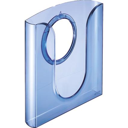 LEITZ Tisch-/Wandprospekthalter, Polystyrol, DIN A4, blau-