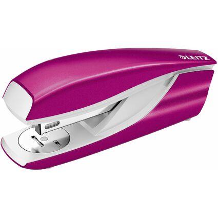LEITZ Heftgerät Nexxt WOW 5502, pink-metallic, im Blister