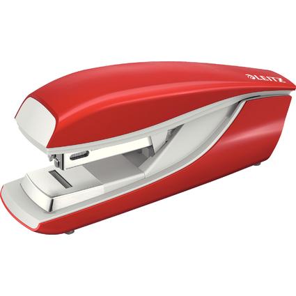 LEITZ Flachheftgerät Nexxt 5505, Heftleistung: 30 Blatt, rot