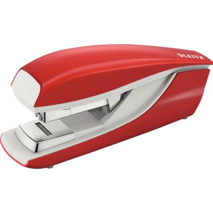 LEITZ Flachheftgerät Nexxt 5523, Heftleistung: 40 Blatt, rot