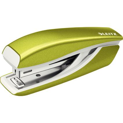 LEITZ Heftgerät Mini Nexxt WOW 5528, grün-metallic