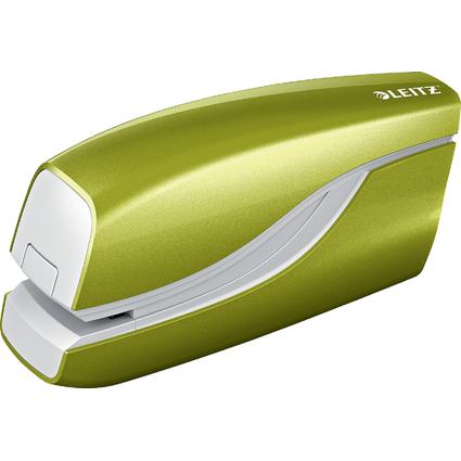 LEITZ Elektrisches Heftgerät WOW, grün