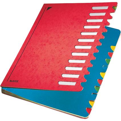 LEITZ Pultordner Deskorganizer Color, A4, 1-12, rot