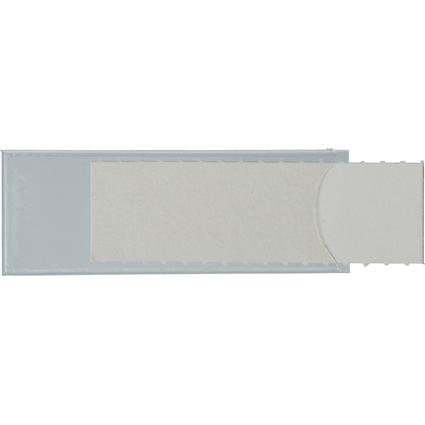 LEITZ Sichtfenster Uni-Schildchen, (B)53 x (H)19 mm, weiß