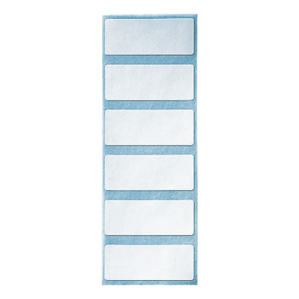 LEITZ Blanko-Beschriftungsschildchen, (B)50 x (H)20 mm, weiß