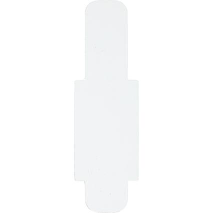 LEITZ Stecksignal, aus Hartfolie, (B)12 x (H)40 mm, weiß