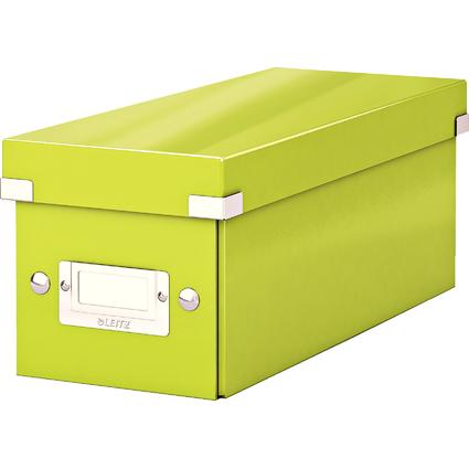 LEITZ CD-Ablagebox Click & Store WOW, grün