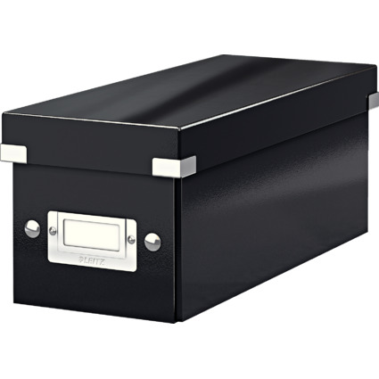 LEITZ CD-Ablagebox Click & Store WOW, schwarz