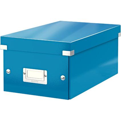 LEITZ DVD-Ablagebox Click & Store WOW, blau